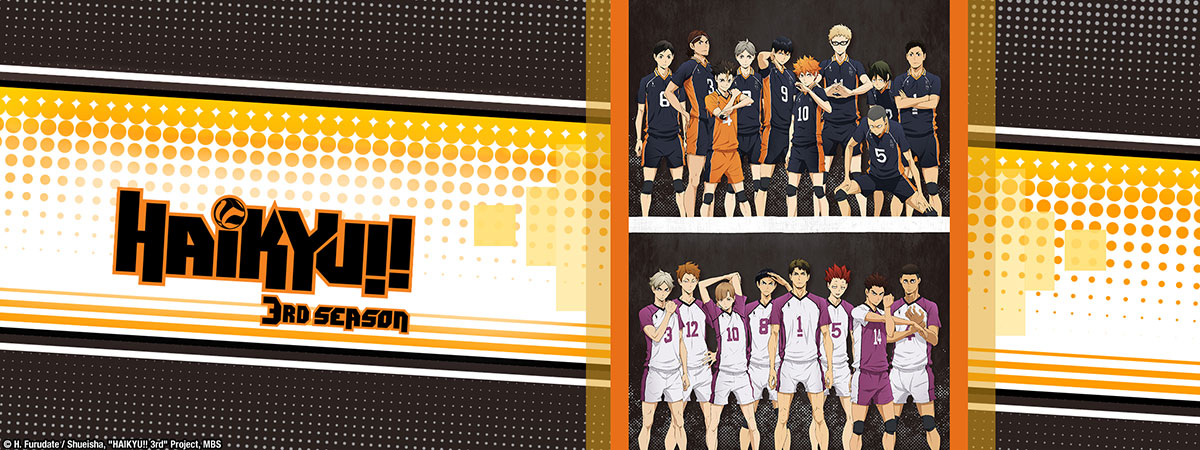Stream Haikyu!! 3rd Season on HIDIVE
