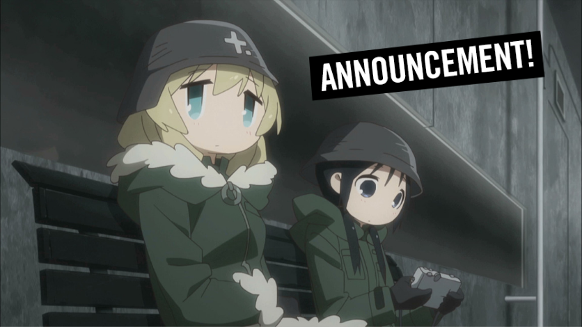 Girls' Last Tour English Dub Journeys to HIDIVE on HIDIVE