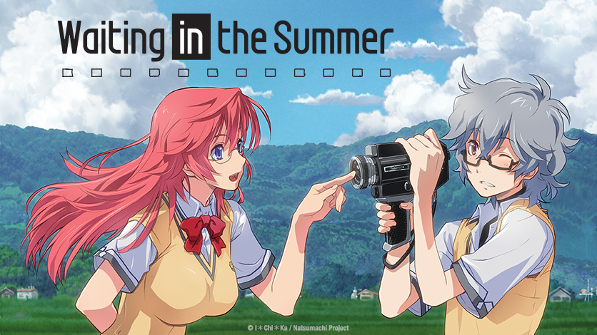 """The English Dub for """"Waiting in the Summer"""" Streams on"""