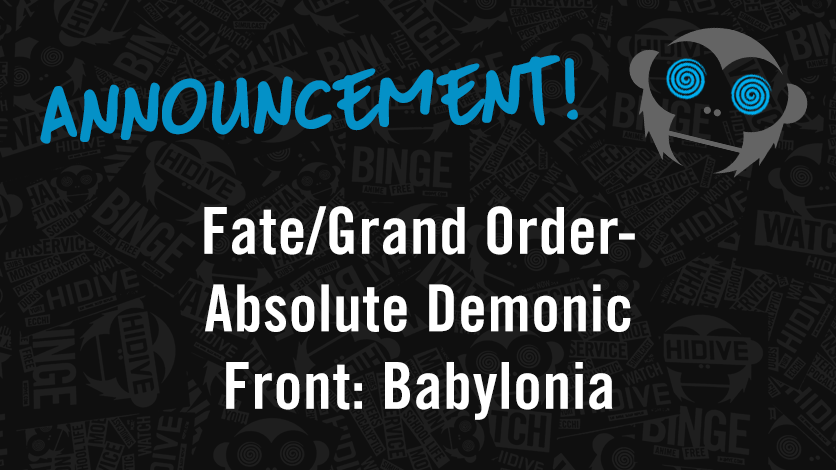 Premiere Exclusive Fate//Grand Order Absolute Demonic Front Babylonia Poster Mash