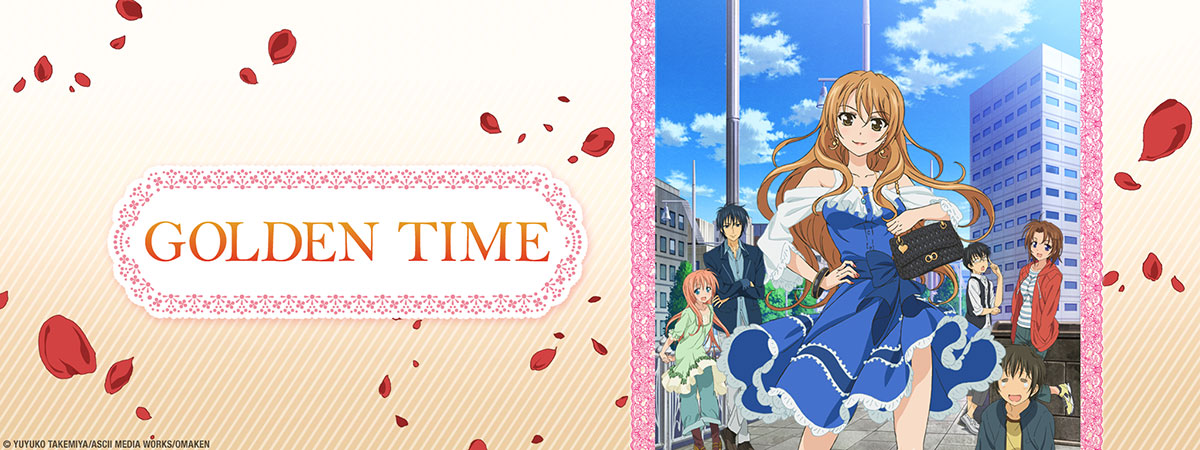 Stream Golden Time on HIDIVE