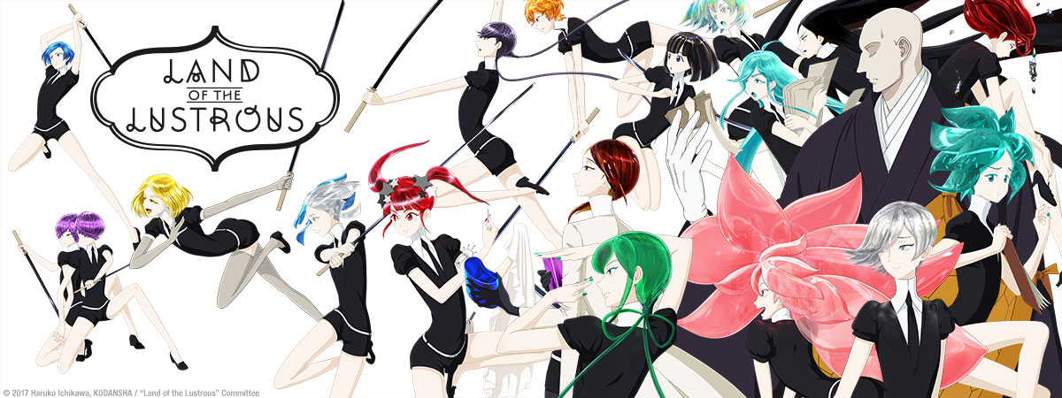 Land of the Lustrous LOL_01_KEY_1200x450